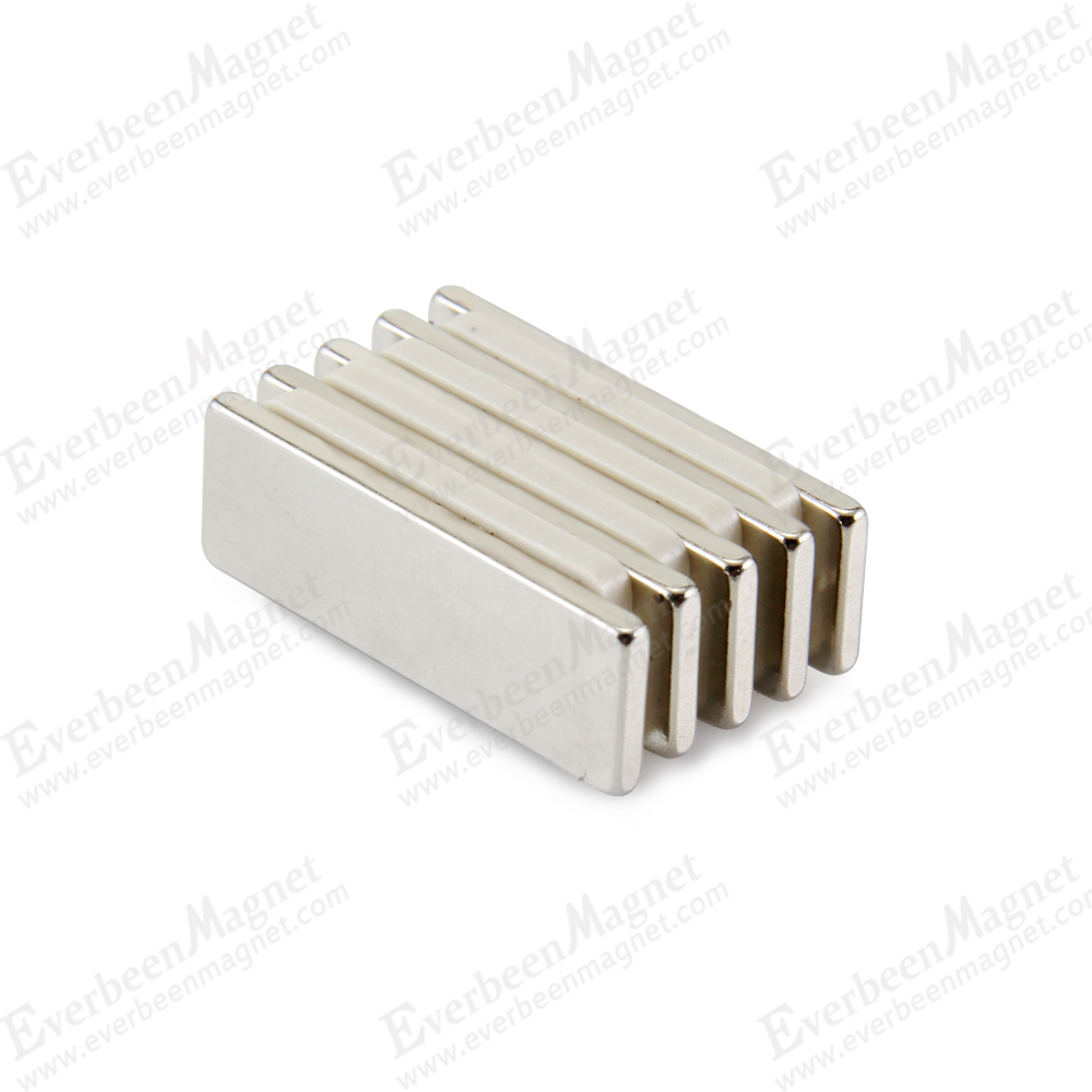 china neodymium rectangle magnet for auto motor