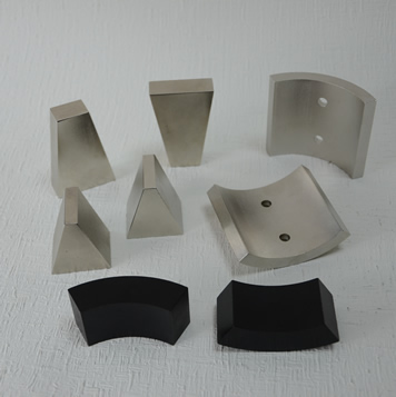 Wedge shaped magnet