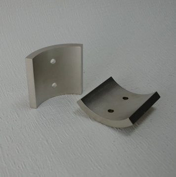 Sector magnets, tile magnet with hole