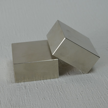 Big block magnet, rectangular magnet
